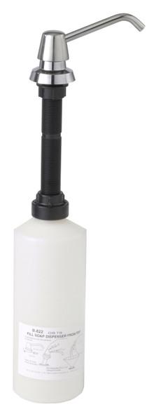 Bobrick B--822 Manual Soap Dispenser, Liquid