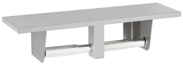 Bobrick B-2840 Toilet Tissue Dispenser with Utility Shelf