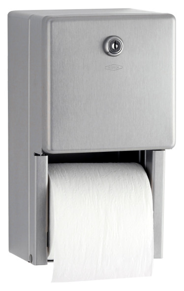 Bobrick B-2888 ClassicSeries® Surface-Mounted Multi-Roll Toilet Tissue Dispenser