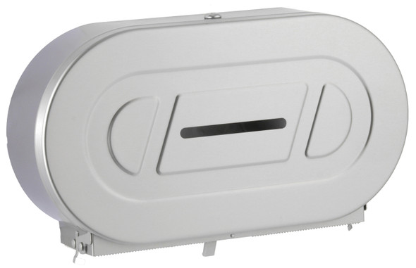 Bobrick B-2892 ClassicSeries® Surface-Mounted Twin Jumbo-Roll Toilet Tissue Dispenser