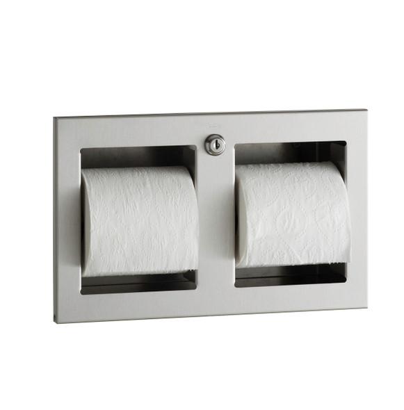 Bobrick B-35883 TrimLineSeries™  Recessed Multi-Roll Toilet Tissue Dispenser