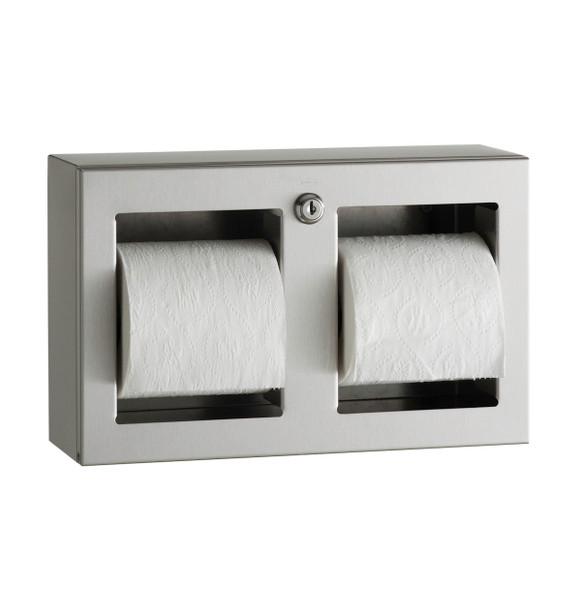 Bobrick B-3588 TrimLineSeries™ Surface-Mounted Multi-Roll Toilet Tissue Dispenser