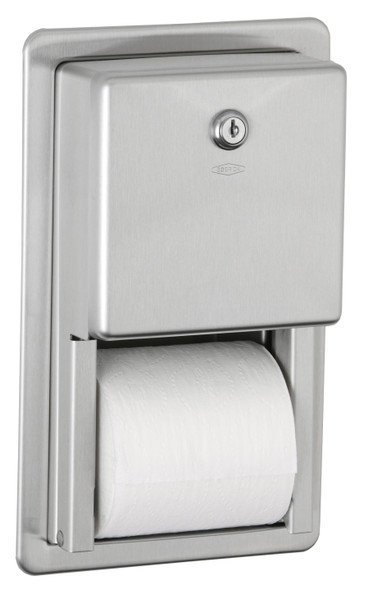 Bobrick B-3888 ClassicSeries® Recessed Multi-Roll Toilet Tissue Dispenser