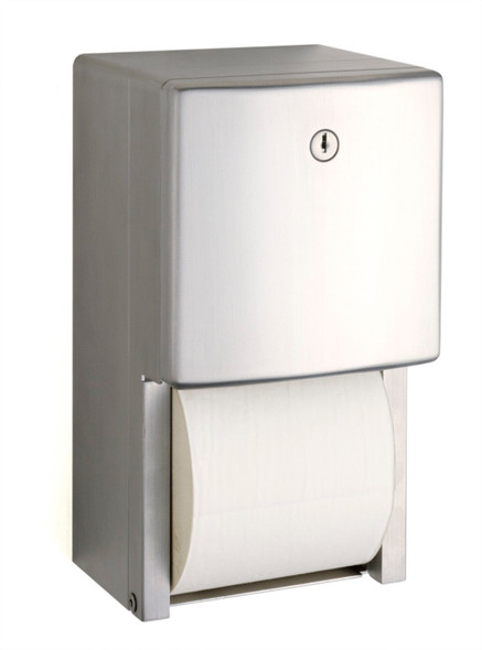Bobrick B-4288 ConturaSeries® Surface-Mounted Multi-Roll Toilet Tissue Dispenser
