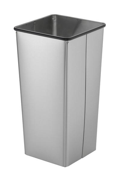Bobrick B-2280 Floor-Standing Waste Receptacle with Open Top