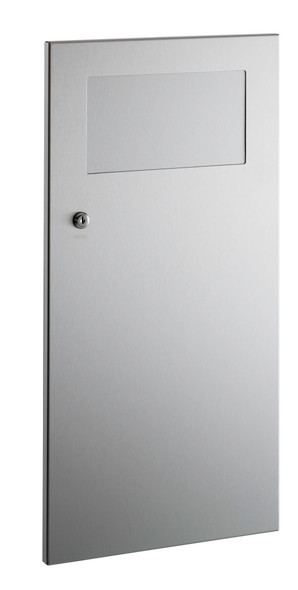 Bobrick B-35633 TrimLineSeries™  Recessed Waste Receptacle with Disposal Door