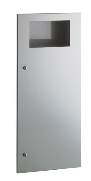 Bobrick B-35643 TrimLineSeries™  Recessed Waste Receptacle