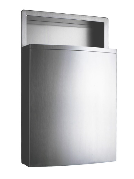 Bobrick B-43644 ConturaSeries® Recessed Waste Receptacle w/LinerMate
