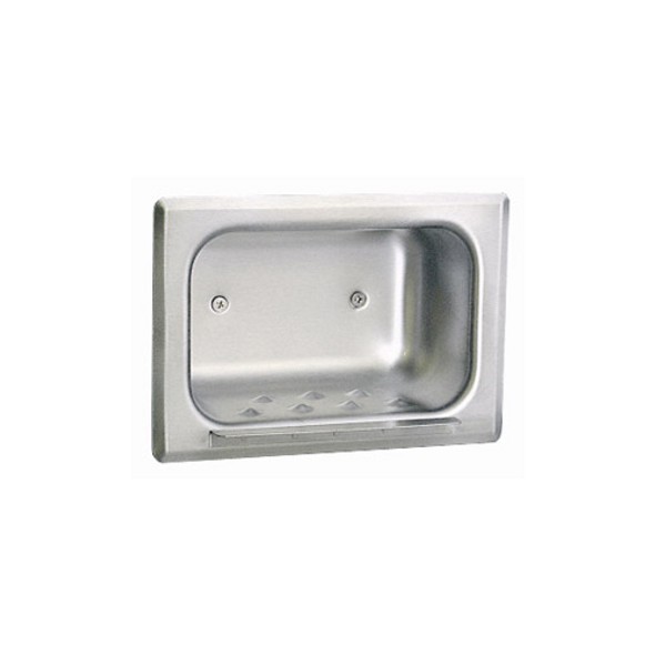 Bobrick B-4380 Recessed Heavy-Duty Soap Dish