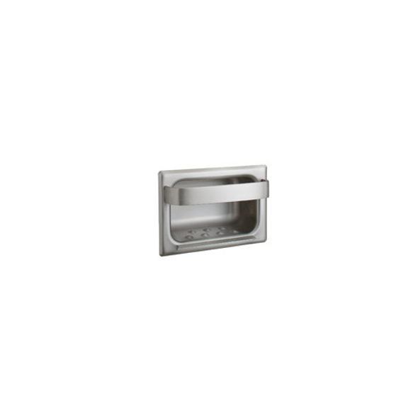 Bobrick B-4390 Recessed Heavy-Duty Soap Dish and Bar