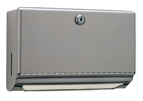Bobrick B-26212 ClassicSeries® Surface-Mounted Paper Towel Dispenser