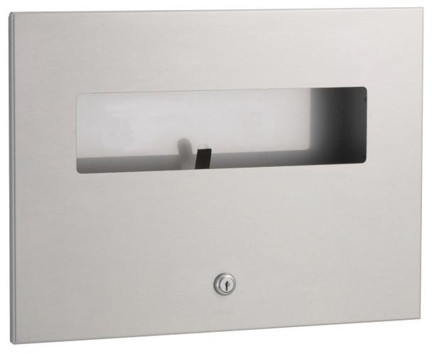 Bobrick B-3013 TrimLineSeries™ Recessed Seat-Cover Dispenser