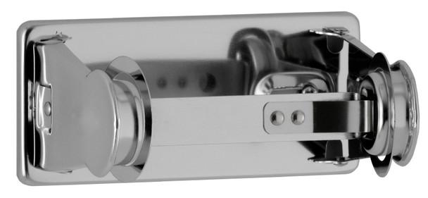 Bobrick B-264 ClassicSeries® Surface-Mounted Vandal-Resistant Toilet Tissue Dispenser for Single Roll