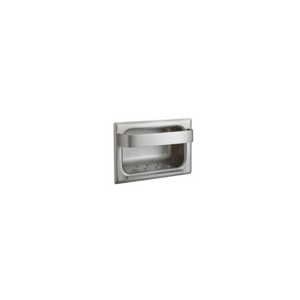 Bobrick B-4390 Recessed Heavy-Duty Soap Dish and Bar