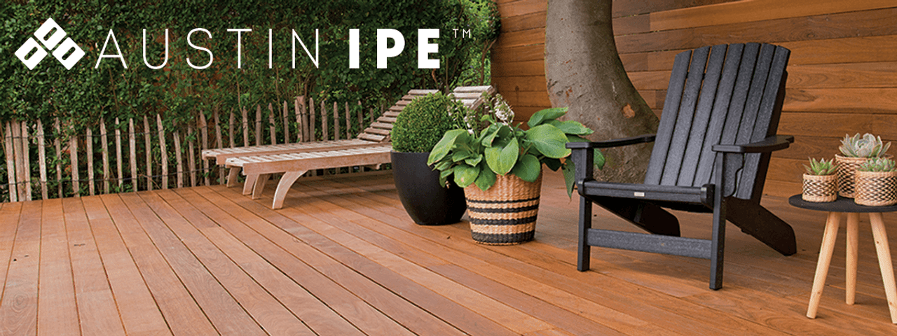 Hidden Deck Fasteners Clips for Official IPE wood at Austin IPE