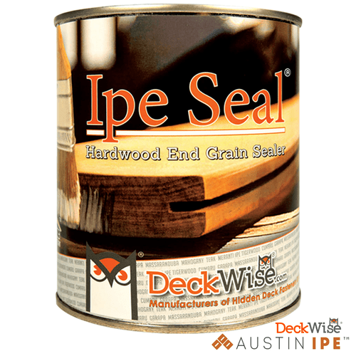 Ipe Seal Hardwood End Grain for Natural Wood AustinIpe