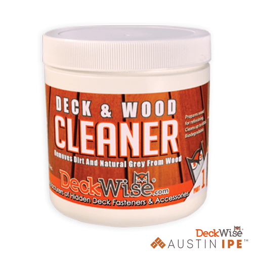 Deck and Wood Cleaner Removes Dirt and Natural Gray From Wood AustinIPE