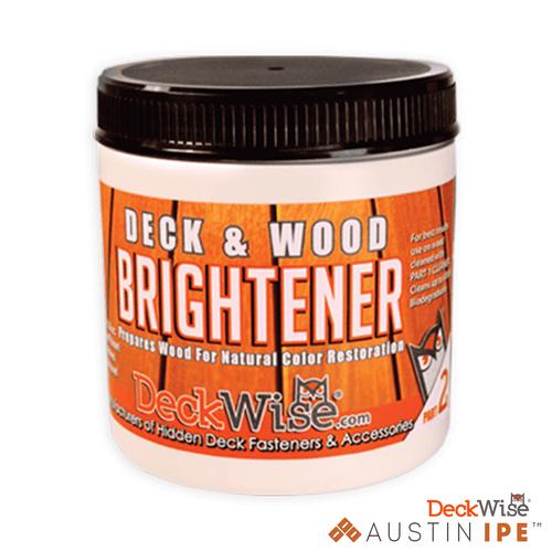 Deck and Wood Brightener Prepares Wood For Natural Color Restoration AustinIPE