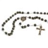 Imitation Hematite Rosary