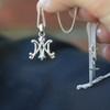 Sterling Silver Ave Maria Pendant