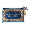 Jesus Prayer Rosary Pouch - Blue