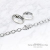 Sterling True Devotion to Mary bracelet and rings