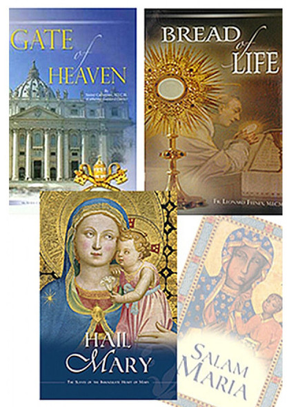 Mancipia 3-Book Collection : Bread of Life, Gate of Heaven and Hail Mary by the Slaves of the Immaculate Heart of Mary