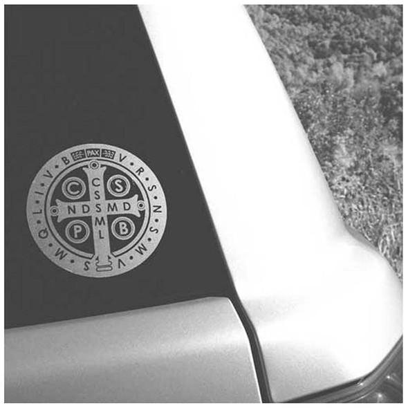 Saint Benedict Medal Car Decal