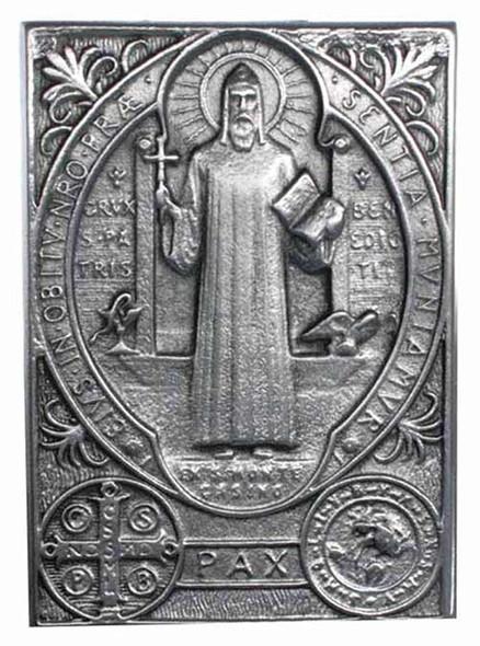 Saint Benedict Medal Car Visor Clip