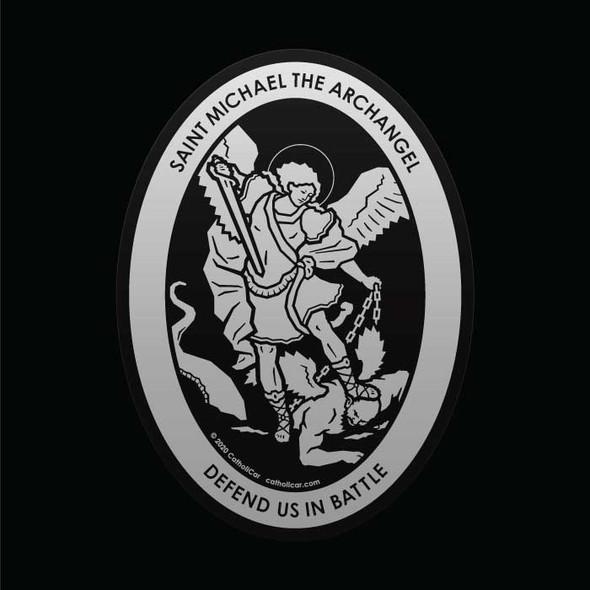 Saint Michael the Archangel Car Decal