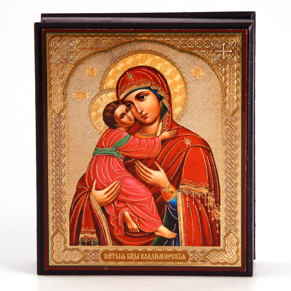 Virgin of Vladimir Keepsake Box