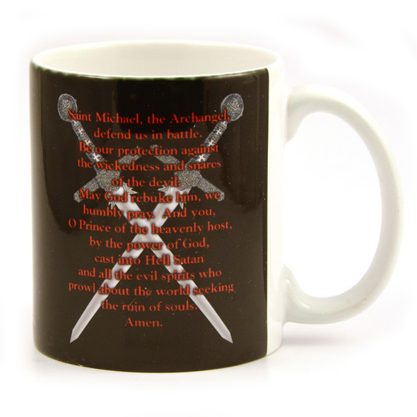 Saint Michael  Mug Prayer