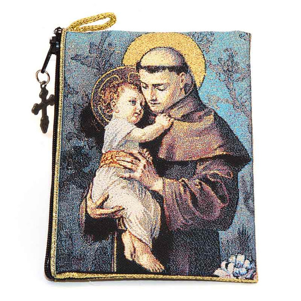 Saint Anthony Pouch front
