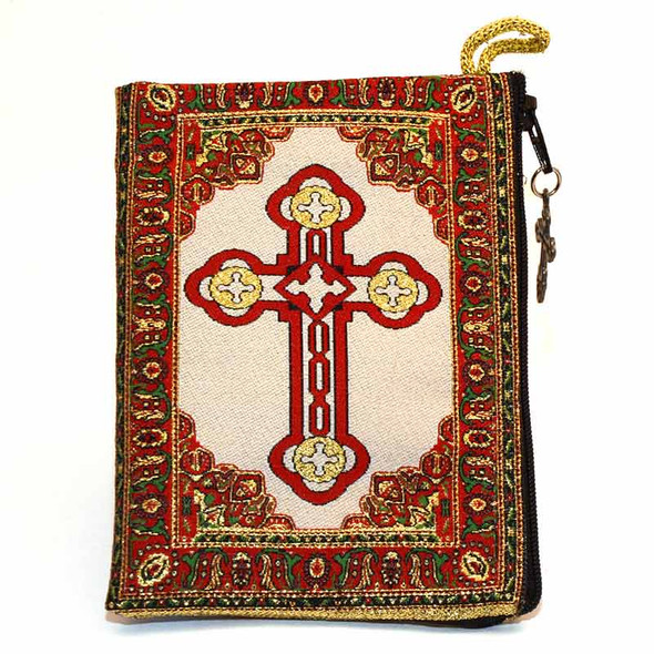 Sacred Hearts of Jesus and Mary Pouch back
