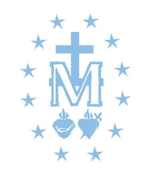 Miraculous Medal Embroidery