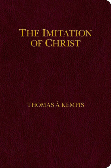 My Imitation of Christ, by Thomas a Kempis Zipper Cover