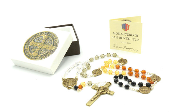 San Benedetto Rosary Set