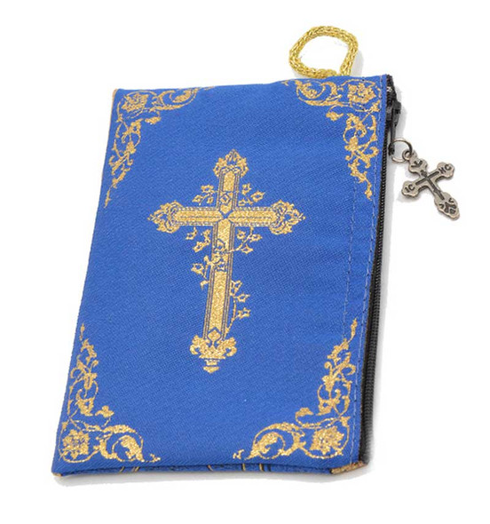 Our Lady of Perpetual Help Pouch back