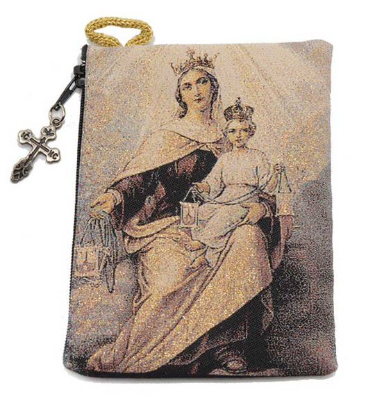Our Lady of Mount Carmel Pouch
