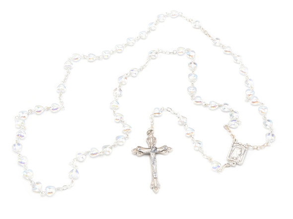 Chrystal Heart Communion Rosary