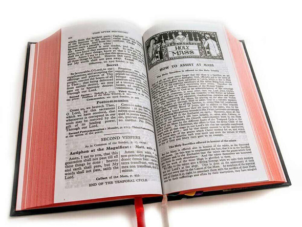 Saint Andrew Daily Missal  inside