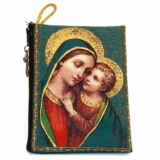 Our Lady of Good Counsel pouch front