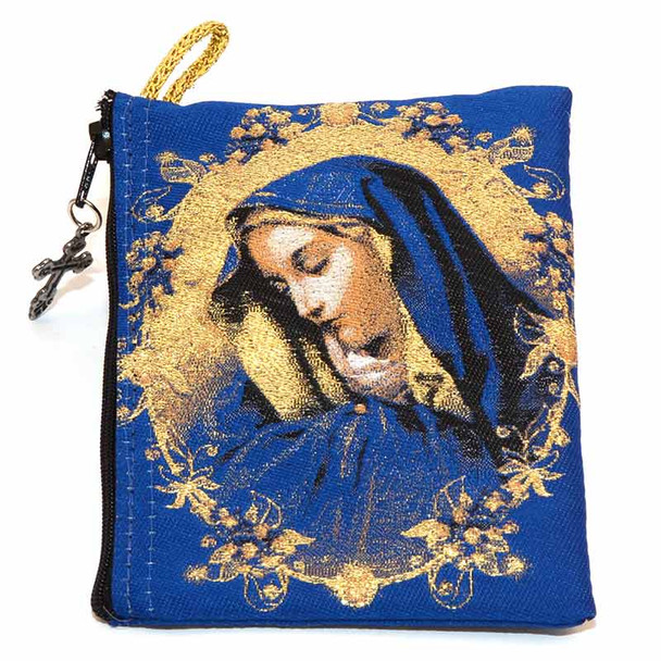 Our Lady of Sorrows, pouch front