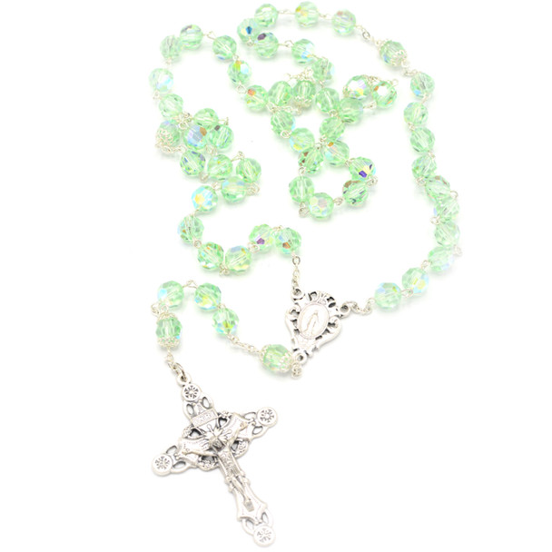 Chrysolite Crystal Rosary