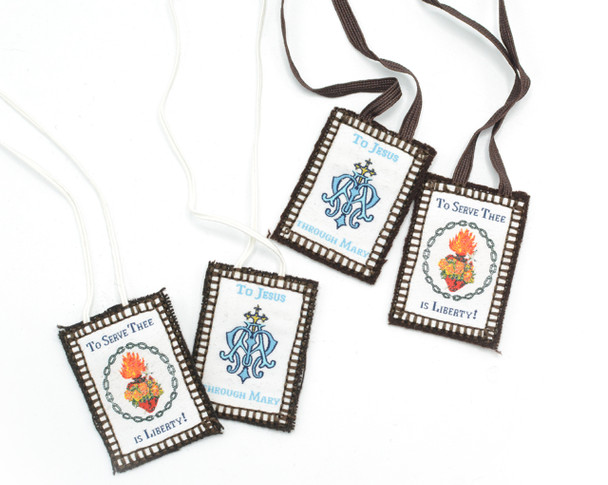 True Devotion to Mary - Brown Scapulars