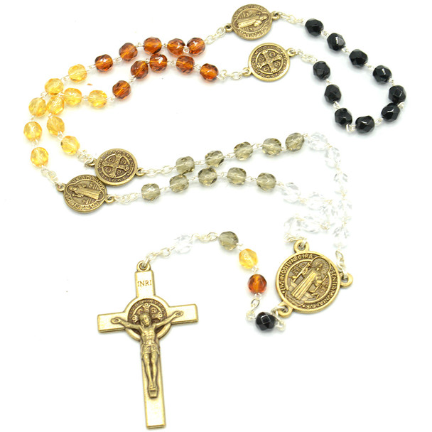 San Benedetto- rosary only