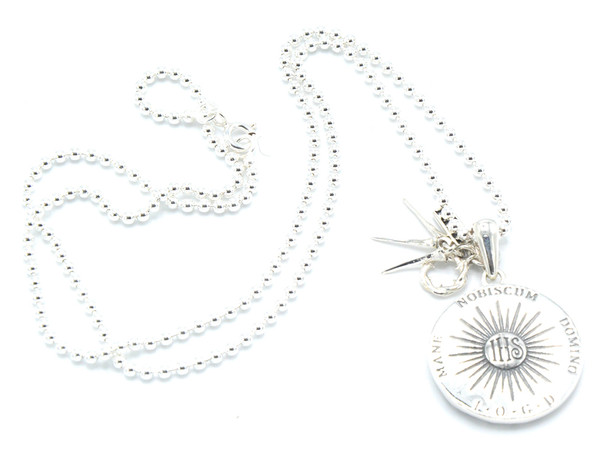 Sterling Silver Passion Medal