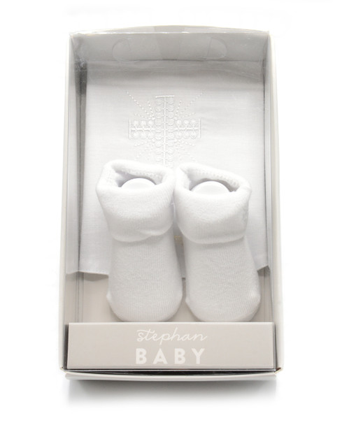 Baptismal Bib and Socks