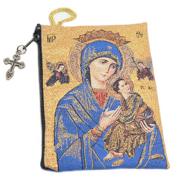 Our Lady of Perpetual Help Pouch front