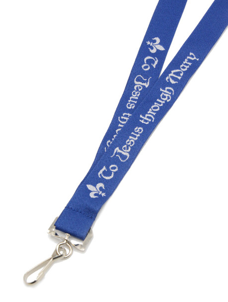 To Jesus through Mary Lanyard